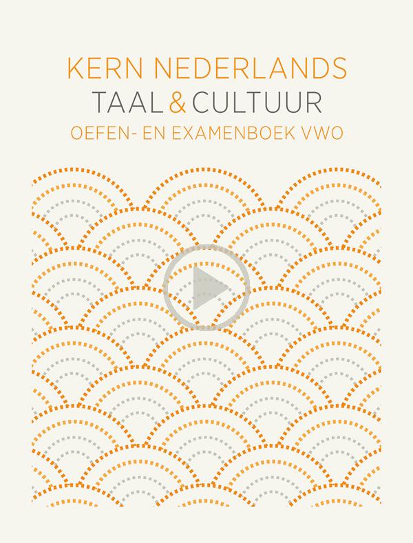 KERN Nederlands taal & cultuur - oefen- en examenboek vwo